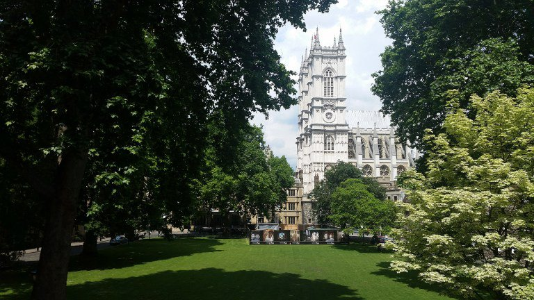 Convocation House is in the Westminster Abbey estate, so not a bad view on a Friday afternoon.